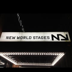 Photo taken at New World Stages by Bruno G. on 1/4/2013