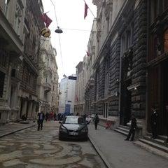 Photo taken at Bankalar Caddesi by 🚬QZK@N🚬 . on 11/15/2012