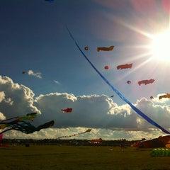 Photo taken at Tempelhofer Park by AnnA K. on 9/22/2012