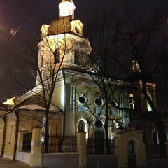 Photo taken at Храм святителя Николая в Звонарях by Anton L. on 2/23/2013