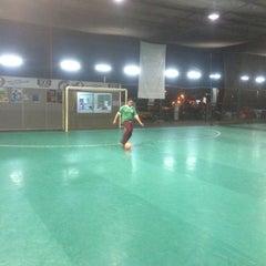 Photo taken at Galaxy Futsal Bangi by Mohamad F. on 8/15/2015