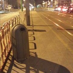 Photo taken at Tram/bushalte Ringlaan by Daria T. on 3/11/2015