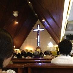 Photo taken at Gereja Katolik Santo Yohanes Penginjil by Kevin S. on 5/26/2012