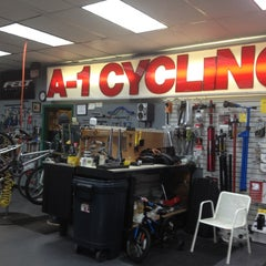 Photo taken at A-1 Cycling by Traci G. on 2/14/2013