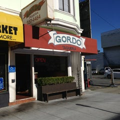 Photo taken at Gordo Taqueria by Mark G. on 1/12/2013