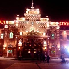 Photo taken at Ж/Д вокзал Казань-1 / Kazan Train Station by Rida I. on 7/17/2013