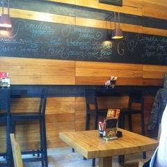 Photo taken at Gundulich cafe by Antonia G. on 1/30/2013