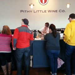 Photo taken at Pithy Little Wine Co. by Joseph E. on 2/9/2013