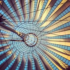Photo taken at Potsdamer Platz by Nuno G. on 10/12/2012