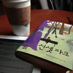 Photo taken at Starbucks by Minsung S. on 4/8/2013