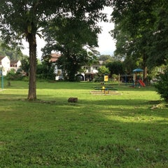 Photo taken at Playground Jalan A by Manj on 10/30/2012