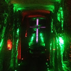 Photo taken at Catedral de Sal de Zipaquirá by Ramse G. on 12/26/2012