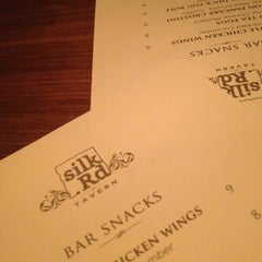 Photo taken at Silk Rd Tavern by Angel S. on 11/9/2012