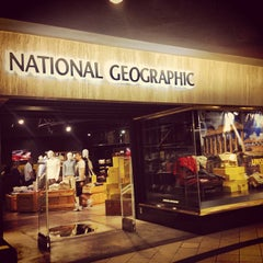 Photo taken at National Geographic Store by Ezra A. on 6/29/2013