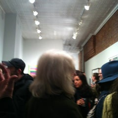 Photo taken at Jen Bekman Gallery by Cecilia P. on 3/15/2013