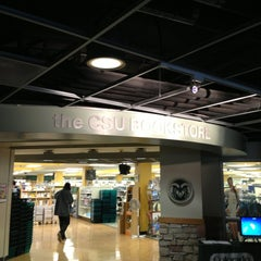 Photo taken at CSU Bookstore by Tom C. on 1/9/2013