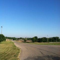 Photo taken at North Lake Park by Kristi C. on 9/10/2013