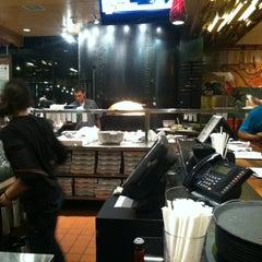 Photo taken at SPIN! Neapolitan Pizza Olathe by Kristi C. on 12/17/2012