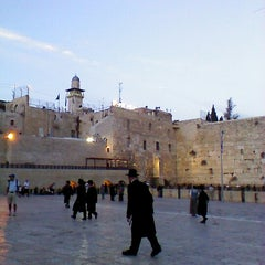 Photo taken at Western Wall (הכותל) by lee on 11/5/2012