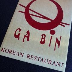 Photo taken at Ga Bin Korean Restaurant by chikidan on 4/5/2013