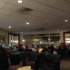 Photo taken at Delta Sky Club by Chris H. on 12/13/2012