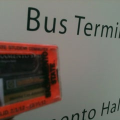 Photo taken at Sac State: Bus Terminal by Meisha L. on 11/13/2012