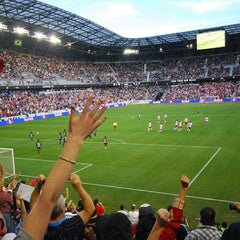 Photo taken at Red Bull Arena by 🐯 on 4/18/2013