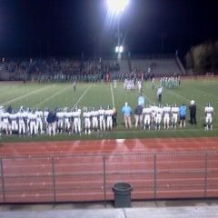 Photo taken at Garry Berry Stadium by Lauryn F. on 10/13/2012