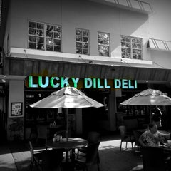Photo taken at Lucky Dill Deli by Alex P. on 8/10/2013