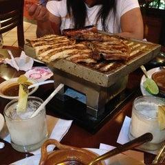 Photo taken at La Parrilla Cancun by Cherry B. on 12/25/2012