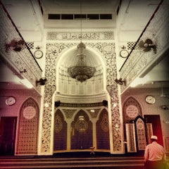 Photo taken at Masjid India by Hafeez A. on 11/6/2012