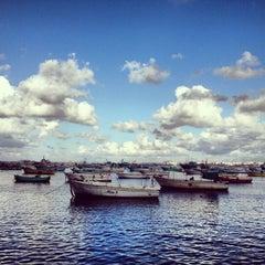 Photo taken at Corniche by Ooooodd N. on 1/4/2013