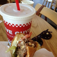 Photo taken at Five Guys by Sonia M. on 8/17/2013