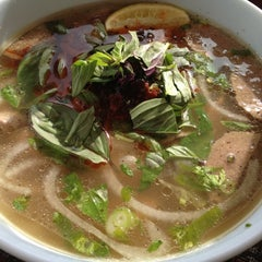 Photo taken at China Beach Vietnamese Bistro by Scott S. on 12/8/2012