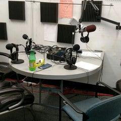Photo taken at U92fm - WVU College Radio by Nick B. on 11/12/2015
