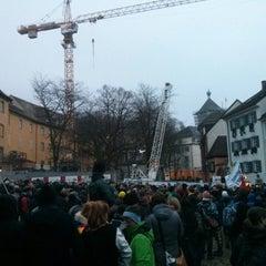 Photo taken at Augustinerplatz by ALF on 1/23/2015