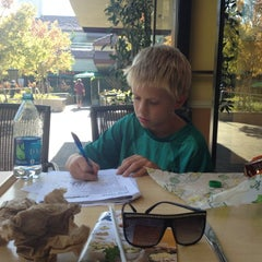 Photo taken at Subway by Courtney K. on 10/17/2012