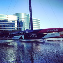 Photo taken at USA-71 BMW-Oracle Racing Boat by @ferval100 Fer V. on 6/6/2014