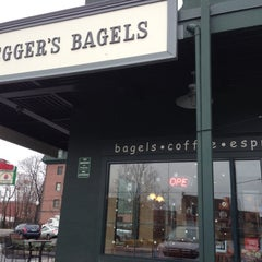 Photo taken at Bruegger's by Brian G. on 12/8/2012