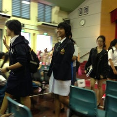 Photo taken at Crescent Girls' School by Safudin S. on 4/13/2013
