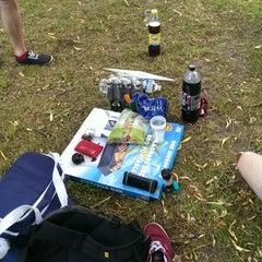 Photo taken at Magdalenapark by Yoran B. on 6/26/2014
