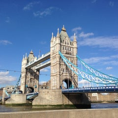Photo taken at Tower Bridge by SsATsS on 5/8/2013