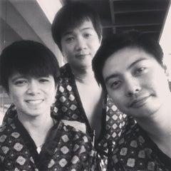 Photo taken at Wensha Spa by Tonichi T. on 11/3/2013