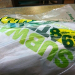 Photo taken at Subway by Kyle on 1/20/2013