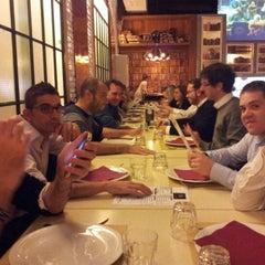Photo taken at Pizzeria Birmana 2 - La Fonderia by Davide B. on 10/19/2012