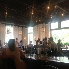 Photo taken at Leaf Cafe & Bar by Lynn U. on 6/9/2013