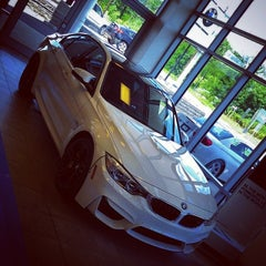 Photo taken at JMK BMW by Davaish S. on 7/25/2014
