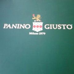 Photo taken at Panino Giusto by Fernando F. on 6/10/2013