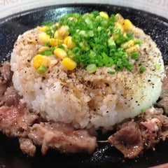 Photo taken at ペッパーランチ イオン幕張店 by Yoshiroh on 10/29/2012