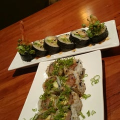 Photo taken at Nikai Sushi by Glenn B. on 4/10/2014